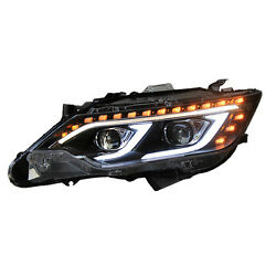 For Toyota Camary 2013-2015 LED Assembly Headlight Refit HID Bi-xenon Projector
