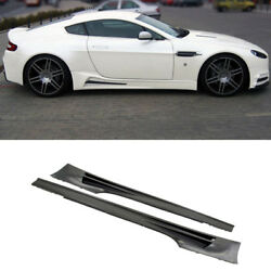 Carbon Fiber Bodykits Bumper+Side Skirts For Aston Martin DB9 COUPE 2007-11