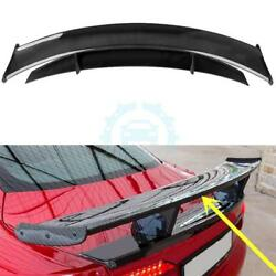 Carbon Fiber Rear Spoilers Tail Wing Fit For Maserati SPORT GTS 2007-2015