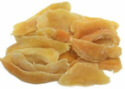 Natural Dried Mango Slices By Its Delish 2 Lbs Bulk Candied Dried Fruit   Low