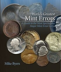 Worldand039s Greatest Mint Errors New Coin Collector Gift Book Us And World W/ Value