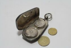 Antique Thing - A Very Beautiful Silver Coin Purse - Purse. 900 Sample Of Silver