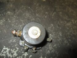 1989 Johnson 110hp Outboard Starter Relay