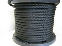 Usa 1/8 1000and039 Bungee Cord Shock Cord Bungie Cord Marine Grade Stretch Cord Blk