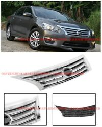 JDM Style Front Bumper Cover Conversion Grille For 13-15 Nissan Altima