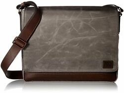 FRYE Men's Carter Messenger Accessory -slate ONE SIZE Backpacks Bags Briefcases