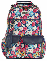 Itzy Ritzy Boss Backpack Diaper Bag Backpack In Posy Pop