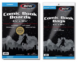 BCW Bags amp; BCW Comic Boards Current Silver Gold Magazine $25.99