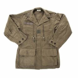 Army Combat Jacket 1960s M64 French F2 Style New Surplus Olive Green Retro Med R