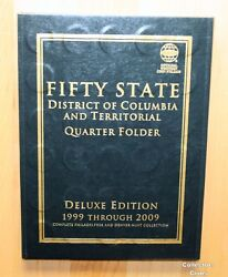 1999 - 2009 Complete 112 State And Territory Quarter Pandd Uncirculated Set Wfolder