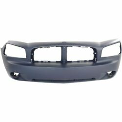 Front Bumper Cover Assembly For 06-10 Dodge Charger Fits 4806179ae / Ch1000461