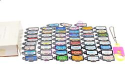 Micro Machines 1990 Galoob License Plate Collection. Complete Original Box+