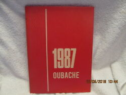 1987 Yearbook Wabash Valley College Mount Mt. Carmel Il Oubache Great Photos