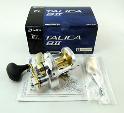 New Shimano Talica 8ii 8 2-speed Reel U.s Seller Free 1-3 Days Delivery
