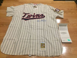 Harmon Killebrew Signed Autographed Mitchell And Ness Twins Jersey Uda Insc 573hrs