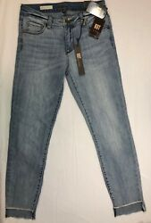 Kut From The Kloth Reese Ankle Straight Leg Jeans Size 0 Regular Price 76