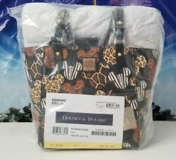 Factory Sealed Disney Dooney and Bourke Animal Kingdom 20th Anniversary Tote