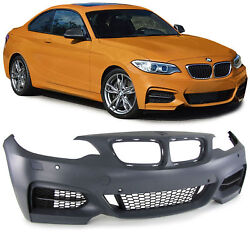 Sport front bumper with grills for MW 2 Series Coupe F22 Convertible F23 from 13