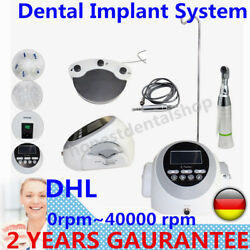 Dental Implant System Surgery Brushless Motor Drill Machine Equipment DE SHIP