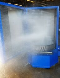 Parts Washer Spray Washing Cabinet With Gear Drive