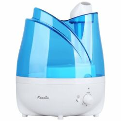 Ultrasonic Humidifier Essential Oil Tray, 2L/0.53 Gallon Cool Mist Humidifiers
