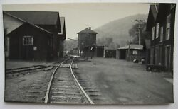 East Broad Top Railroad Yard And Shops Orbisonia, Pa 1957 Contact Photo