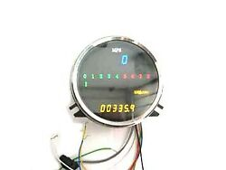 Digital Electronic Speedometer With Tachometer Fits Harley-davidson