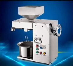 Stainless Steel Commercial Electric Hot And Cold High Power Oil Press Machine Wa
