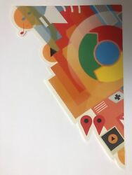 RARE Collectible Google Chrome Decal  Limited Edition  Discontinued Sticker