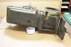 1964 12 Early 1965 Ford Mustang 2 Speed No Resistor Heater Box Motor Plenum