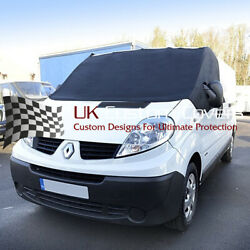 Renault Trafic Deluxe Windscreen Screen Frost Wrap Cover 2001-14 251 Black