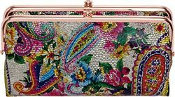 Hobo Womens Lauren Mosaic Paisley One Size Wallets Women's Accessories Clothing