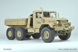 Cross Rc - Hc6 Off Road Military Truck Kit 1/10 Scale 6x6