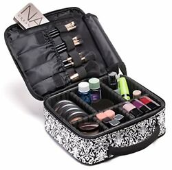 Cosmetic Travel Bag Make Up Bags for Women Makeup Organizer Big Large Case with