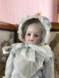 """Belton-type Bisque Head Fashion Doll For The French Market 14"""""""