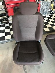Dodge Ram Truck Bighorn Brown Cloth Heated Seats Set 1500 2500 3500 Takeouts SLT