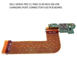 Tablet MLD-DB-USB Charger Charging port PCB Boar DELL VENUE 11 PRO T06G 5130 new