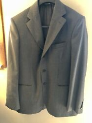 Domenico Vacca Italy Gray Suit And Pant Set