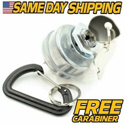 Replaces Dixon 4197 Starter Ignition Switch W/ 2 Keys And Free Carabiner
