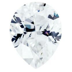 Crushed Ice Pear First Crush Fab Moissanite Loose Stone