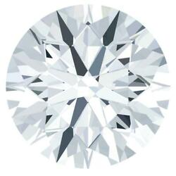 Round Diamond Faceted Fab Moissanite Loose Stone