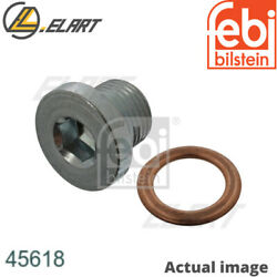 Sealing Plug,oil Sump For Volvo S40 Ii,ms,d 4204 T,d 4204 T2,v50,mw,c30
