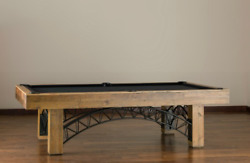 Gateway Pool Table 8' by American Heritage Reclaimed Wood w FREE Shipping