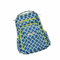Ju-Ju-Be Classic Collection Be Right Back Backpack Diaper Bag Royal Envy