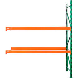 New Husky Rack And Wire Tear Drop Pallet Rack Add-on - 96w X 48d X 120h