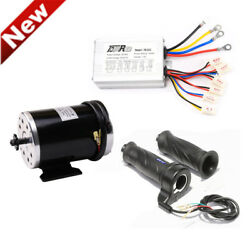 1000w 48v My1020 Brush + Speed Controller Box + Throttle Grip Electric Scooter