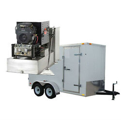 New Panther 19HP Carpet Tile amp; Air Duct Cleaning Equipment Machine Trailer Pkg