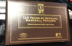 Wandw125 Years Baseball Patches Cooperstown Collection 40 Patches W/autographs Mlb