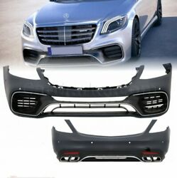 Conversion Bodykit S63 2018-Look for Mercedes W222 S Class S300 S400 S500 S550