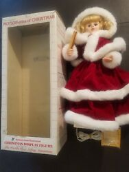 Working 1990 Telco-24-motionette Female Santa-animated-christmas-display In Box
